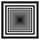 Black and white tunnel background