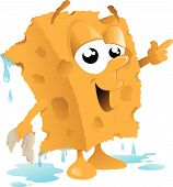 Car Wash Sponge Cartoon