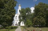 Yuriev Monastery. The Bell Tower. Veliky Novgorod