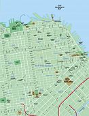 Downtown San Francisco Map