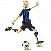 Inter Milan Soccer Player