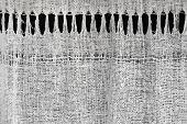 Texture Of Homespun Rural Linen Cloth