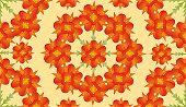 Digital Floral Pattern