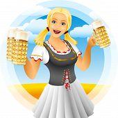 Girl Oktoberfest