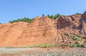 Red Rocks Of The Blomidon Cliffs