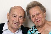 Portrait Of Seniors
