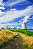 Weg naar een kerncentrale