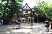 Renaissance Faire Gate
