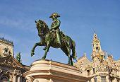 Monument Of The King Pedro Iv, Porto, Portugal