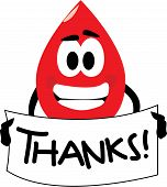 Thank you for your blood donation