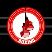 Emblem of boxing