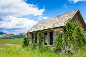 Abandoned Farmstead In Idaho