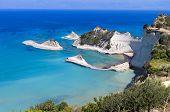 Cape Drastis at Corfu island in Greece