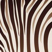 Brownish Zebra Pattern