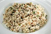 foto of thai cuisine  - herb fried jasmine rice - JPG
