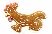 Chicken As Gingerbread Cookie
