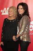 LOS ANGELES - JAN 24:  Carole King, Martina McBride at the 2014 MusiCares Person of the Year Gala in