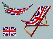 United Kingdom Hammock And Deck Chair