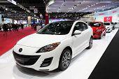 Bangkok - March 26: White Mazda 3 On Display At The 34Th Bangkok International Motor Show On March 2