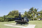 The Robinson R44 Helicopter from Cana Fly in Punta Cana