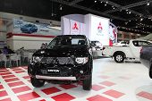 Nonthaburi - November 28: Mitsubishi Triton Car On Display At The 30Th Thailand International Motor