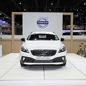 Nonthaburi - November 28: Volvo V40 Car On Display At The 30Th Thailand International Motor Expo On