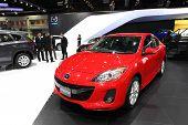 Nonthaburi - November 28: Mazda Mazda3 Car On Display At The 30Th Thailand International Motor Expo