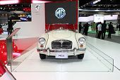 Nonthaburi - November 28:mg Mga Car On Display At The 30Th Thailand International Motor Expo On Nove