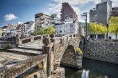 Nagasaki, Japan at historic Megane