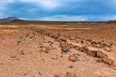 Stone Desert At Geothermal Area Hverir, Iceland