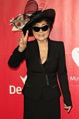 LOS ANGELES - JAN 24: Yoko Ono at the 2014 MusiCares Person Of The Year event at the Convention Cent
