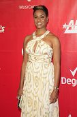 LOS ANGELES - JAN 24: MC Lyte at the 2014 MusiCares Person Of The Year event at the Convention Cente