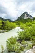 valley of river Verdon in spring, Provence, France