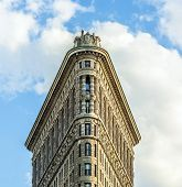 Facade Of The Flatiron Building