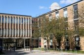 Modern University Campus