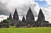 Buddist Temple Borobudur Prombanan Complex Yogjakarta In Java, Indonesia