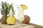 Pina Colada With Pineapple And Coconut