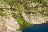 pic of beartooth  - view of an alpine lake along the Beartooth Highway - JPG