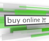 Buy Online Bar - Website Shopping Cart