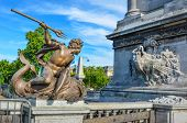 Pont Alexandre III is an ornate bridge that spans the Seine