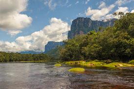 image of canaima  - Highly detailed image of Canaima National Park Venezuela - JPG