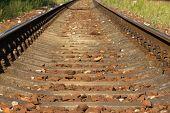 Railroad Close Up