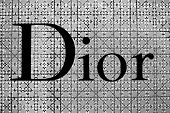 The Sign Of Dior At Dior Store In Siam Paragon Mall In Bangkok, Thailand