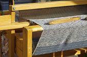 Traditional hand loom