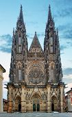 St. Vitus Cathedral In Prague Castle In Prague