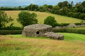 Stone Hut At Newgrange