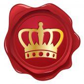 Crown wax seal