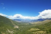 Valle Peligna (Peligna valley) is a Plateau located in Abruzzo region, Italy. It is otherwise known