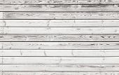Old White Wooden Wall Background Photo Texture