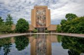 foto of notre dame  - Hesburgh Library of University of Notre Dame - JPG